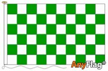 - GREEN AND WHITE ANYFLAG RANGE - VARIOUS SIZES